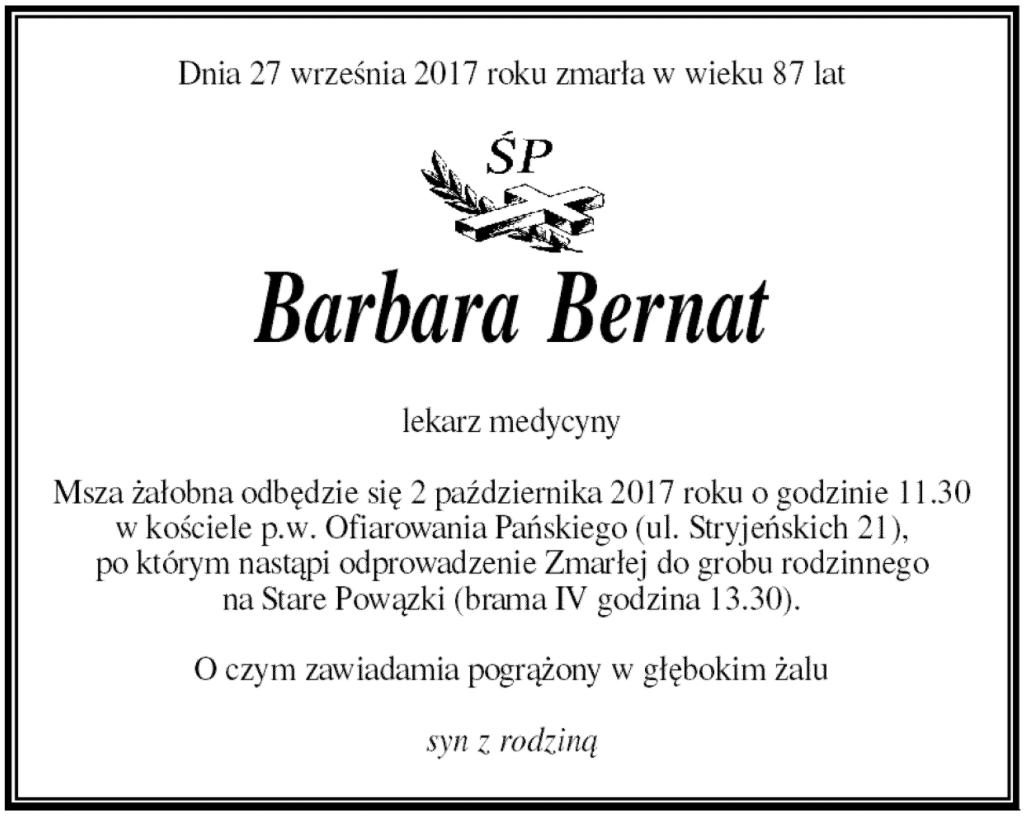 Nekrolog-doktor-Barbara-Bernat