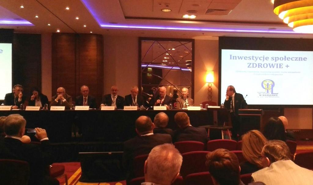 Konferencja Inwestycje społeczne ZDROWIE+