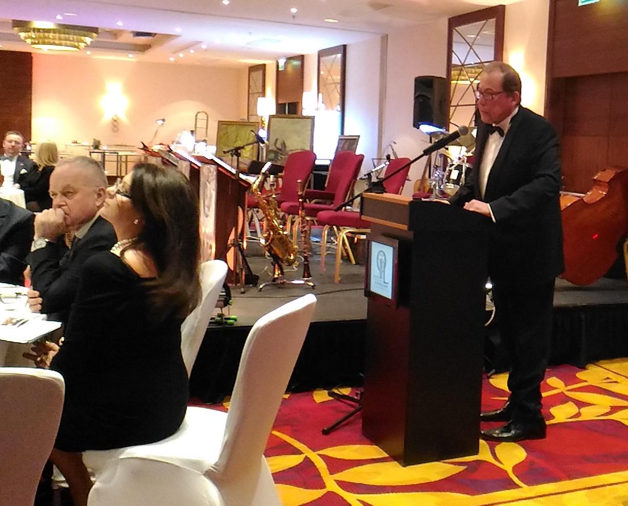 Wystąpienie prezesa Andrzeja Sawoniego podczas spotkania noworocznego z przedstawicielami środowiska medycznego i menedżerami służby zdrowia