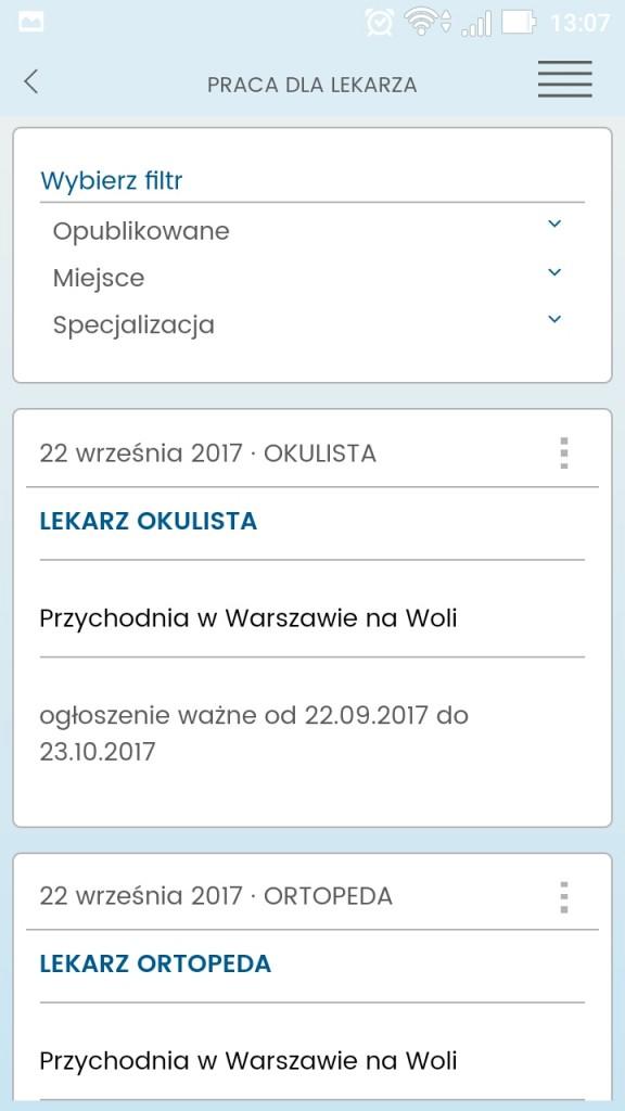 Aplikacja-Kalendarz-Lekarski-wyszukiwarka-ogłoszeń