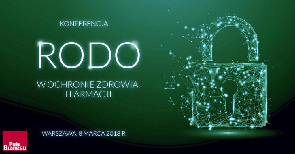 Konferencja RODO w ochronie zdrowia i w farmacji