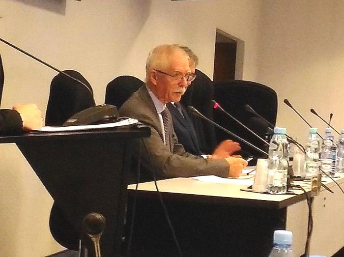 Prof. Romuald Krajewski, Wiceprezes OIL w Warszawie i NIL