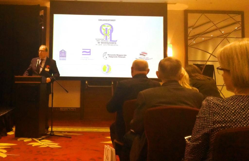 Konferencja Tajemnica medyczna - Prezes Andrzej Sawoni