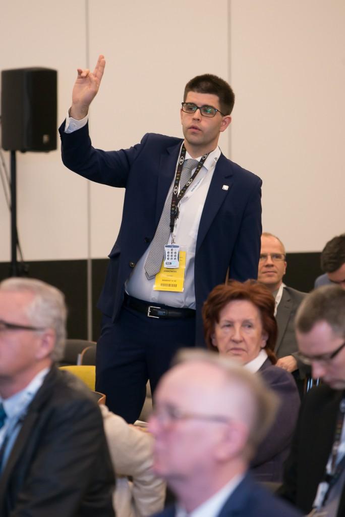 XXXVIII Okręgowego Sprawozdawczo-Wyborczy Zjazd Lekarzy w Warszawie 1